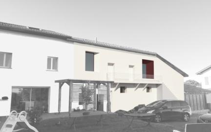Rénovation d'une ferme en 2 duplex à Ustaritz